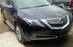 Clean 2010 Acura ZDX Black for sale