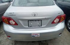 Foreign used Toyota Corolla 2008 Silver for sale