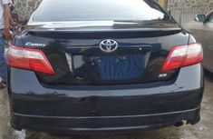 Foreign used Toyota Camry 2008 Black for sale