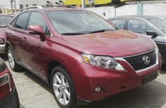 Foreign used Lexus Rx350 2011 red for sale