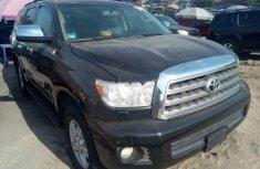 Toyota Sequoia 2012 Petrol Automatic Black for sale
