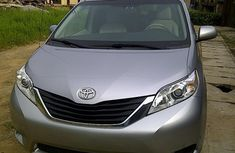 2013 Grey Toyota Sienna for sale with full option