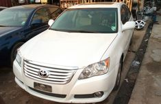 White 2013 Toyota Avalon sport for sale with full option