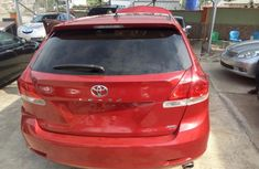 Clean Toyota Venza 2008 Red for sale