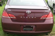 Clean Toyota Avalon 2008 Red for sale