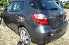 Clean Toyota Matrix 2008 Grey for sale