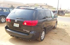 Clean Toyota Sienna 2008 Black for sale