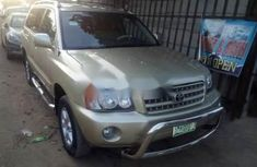 2003 Toyota Highlander Automatic Petrol well maintained for sale