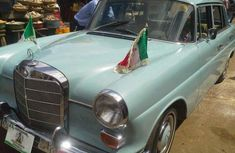 Gov. Ayodele Fayose's official car - Mercedes Benz 220S 1957