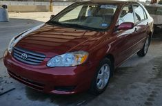 2004 Neat Toyota Corolla for sale
