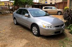 Tokunbo 2004 Honda Accord For Sale.