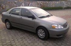 2004 Toks Toyota Corolla for sale\