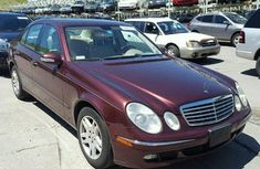 First grade direct tokunbo Mercedez Benz 2006 Red for sale