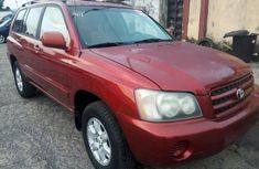 2001 Toyota Highlander Automatic Petrol well maintained for sale