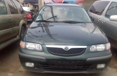 Clean Mazda 626 Manual 2000 Green for sale