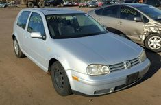 2000 VOLKSWAGEN GOLF SILVER FOR SALE