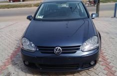 Clean Volkswagen Golf 2007 blue for sale