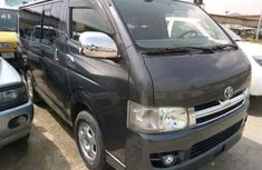 Clean direct tokumbo Toyota HiAce 2010 Black for Sell.