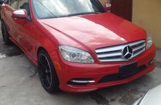 Tokunbo 2009 Mercedes Benz C300 4matic - Red Rose for sale