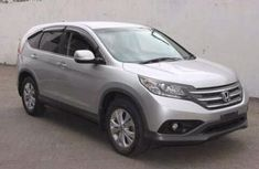Foreign used 2012 automatic Honda CR-V Silver for sale