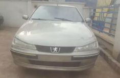 2004 PEUGEOT 406 silver for sale
