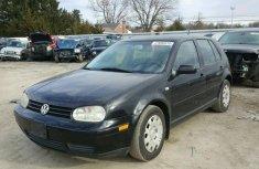 Clean Volkswagen Golf 2000 Black for sale