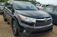Black Toyota Highlander 2016 for sale
