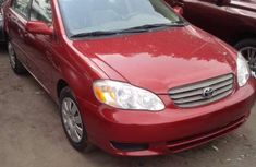 Toks Toyota Corolla sport  2003 Red for sale with the fullest options