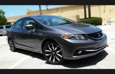 Clean Honda Civic 2018 Grey for sale