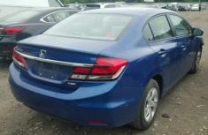 Clean Honda Civic 2012 Blue for sale