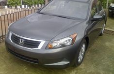 Clean Tokunbo 2008 Honda Accord grey for sale