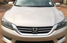 Honda Accord 2014 Gold for sale