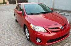 Toyota Corolla 2011 Petrol Automatic Red for sale