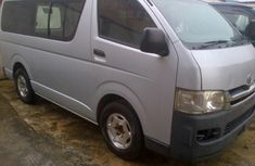 Toyota Hiace bus 2008 silver for sale