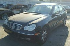 DIRECT TOKUMBO MERCEDES-BENZ C240 2006 BLACK FOR SALE