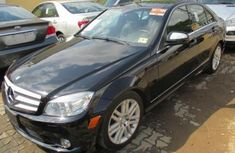 2009 Black Mercedes-Benz C300 Automatic Petrol well maintained for sale