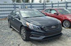 Good Used Hyundai Sonata 2015 Black for sale