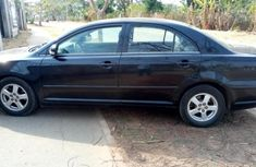 Nigerian used Toyota Avensis 2007 black for sale