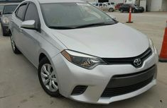 Direct tokunbo used  2015 Toyota Corolla silver for sale