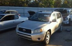 Rav4 silver color 2004 for sale