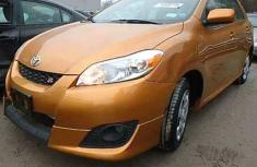 2010 Toyota Matrix Orange for sale