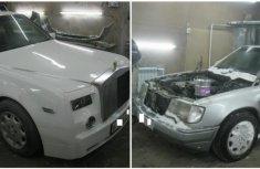Transformation of Mercedes-Benz E-Class into Rolls Royce Phantom: the truth revealed