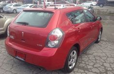 Clean Pontiac Vibe 2005 red for sale