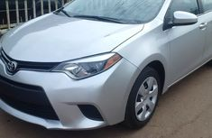 Very clean Toyota Corolla 2012 model silver for sale with full options