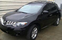 Very clean Nissan Morano 2007 model black for sale with full auction