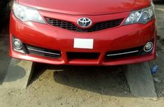 Clean Toyota Camry 2015 Red for sale