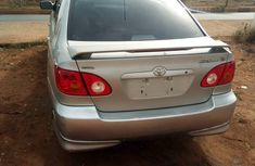 2005 Direct Tokunbo Toyota Corolla silver for sale