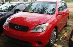 Foreign used Toyota Matrix 2004 red for sale