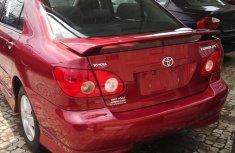 Toyota Corolla sport 2005 for sale