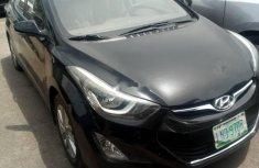 Hyundai Elantra 2015 Petrol Automatic Black for sale
